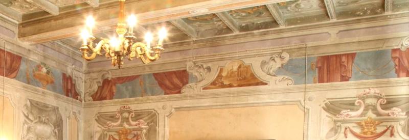 palazzo tornielli soffitti affrescati
