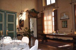 elegante sala per catering in monferrato