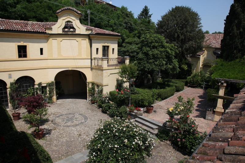 palazzo tornielli giardino