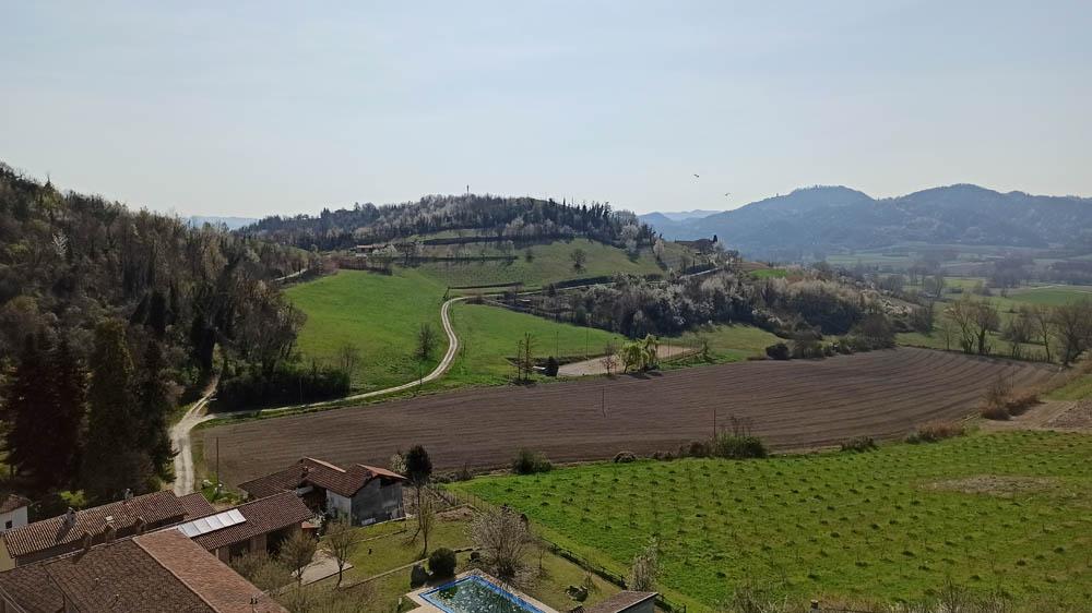 Colline del Monferrato a Mombello Monferrato
