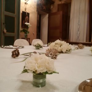 tavola elegante palazzo tornielli